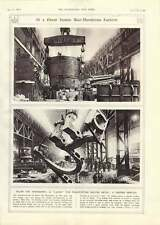 1917 Italian War Munitions Factory Giant Molten Metal Ladle Transport Casing