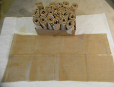 Rustic Wedding Decorative Burlap Table Runners Lot of 23 Event Loose Weave 8 ft