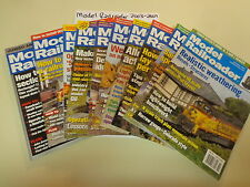 Model Railroader Magazine (10 Issues) 2003-2009 Toy Train Railroad History
