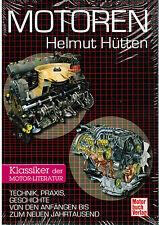 Buch Motoren Helmut Hütten Klassiker der Motor-Literatur Motorbuch Verlag