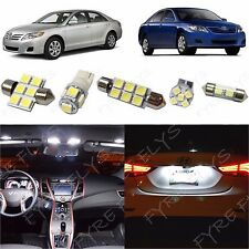 11x White LED lights interior package kit for 2007-2011 Toyota Camry TC3W