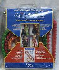 KNIFTY KNITTER ASSORTED LOOM SERIES SET *NEW* LONG, FLOWER, ROUND & HOOK, NEEDLE