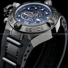 Invicta Men Subaqua Noma IV Combat Swiss Chronograph Tachymeter SS PU 500M Watch