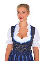 1214T- 3tlg Lukas Dirndl mit Schürze und Bluse, Gr.34-52 Oktoberfest NeU Tracht