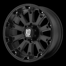 17 Inch Black Wheels Rims 5 Lug Jeep Wrangler JK XD Series Misfit XD800 EACH NEW