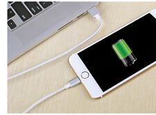 2in1 Braided Nylon Charger Lightning Micro USB Sync Data Cable fr Android iPhone