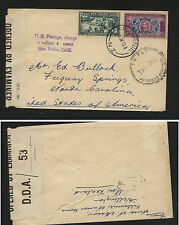 New  Zealand   censor  postage due  cover   1943         KL1219
