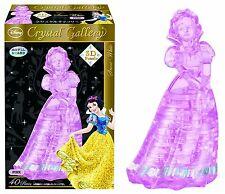 HANAYAMA 40-Piece Crystal Gallery 3D Puzzle - Disney Snow White  (Pink)