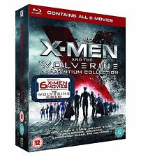 X-Men and the Wolverine Adamantium Collection (3D + 2D Blu-ray, 8 Discs) *NEW*