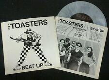 "THE TOASTERS Beat Up 7"" MOON SKA Ltd 200 reissue MARBLE vinyl 2 TONE Specials"