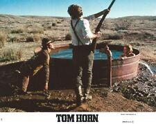 TOM HORN -1980- Original 8x10 Mini Lobby Card #4 - STEVE MCQUEEN, LINDA EVANS