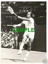 ORIGINAL PRESS PHOTO - WIMBLEDON 1976 EGYPTIAN TENNIS STAR EL SHAFEI