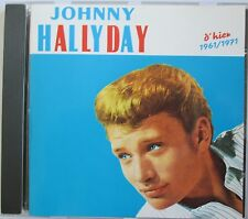 "JOHNNY HALLYDAY CD  ""D'HIER 1961/1971"" - (CLUB DIAL)"