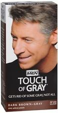 Just for Men Touch of Gray, Hair Treatment,Dark Brown-Gray T-45