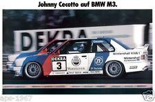 BMW E30 M3 DTM  Motorsport poster print # 13