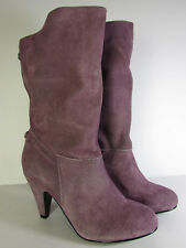Chinese Laundry Womens Avona Distressed Boot Shoe Mauve, US 8