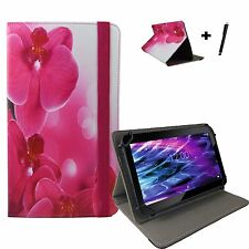 10.1 zoll Motiv Tablet Tasche Hülle Case Etui - Acer Aspire One 10 - Orchidee 10