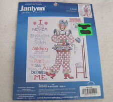 SASSY STITCHER by Alma Lynne - Janlynn - Counted Cross Stitch Kit 178-0501  NEW