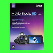 Sony Vegas Movie Studio HD Platinum **Suite** 11  FOR 5 PC's, Windows 7 & 8 & 10