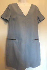 Misguided UK10 EU38 US6 new ice cream zip waist lined shift short dress