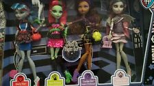 Monster High Doll Ghouls Night Out 4 pack Rochelle Clawdeen Venus Ghoulia NEW