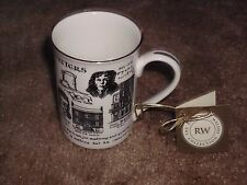 Rare 2000 Rosalind Walshe Collection Irish Writers & Poets Teacup / Coffee Cup