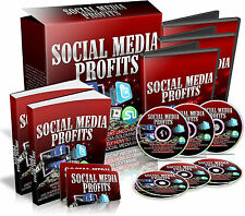Social media profitti generare profitti online con SOCIAL MEDIA MARKETING CD ROM