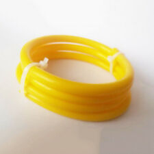 "Yellow  3/16"" (5mm)"" Vacuum Silicone Hose Intercooler Coupler Pipe Turbo 1 Foot"