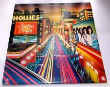The Hollie's Another Night 1975 Epic PE 33387 Classic Rock 33 rpm Vinyl LP VG+