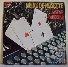 "33T Oscar DENAYER Disque LP 12"" REINE DE MUSETTE Pocker 4 As POLYDOR 2420106"