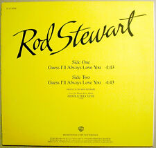 ROD STEWART Guess I'll Always Love You promo 12 VINYL from Absolutely Live