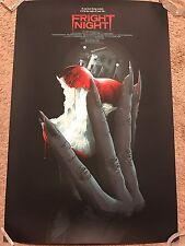 Matt Ryan Tobin 1985 Fright Night Print Poster Mondo Horror Movie Roddy Mcdowall