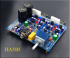 Assembeld Class A FET headphone amp board base on HA5000 with ALPS pot