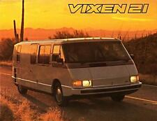 Old Print.  1986 Vixen 21 Motorhome Advertisement