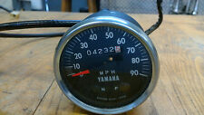 Yamaha HS 1 90cc Speedometer with Cable 1970-71