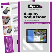 2x dipos Samsung Galaxy Note Pro 12.2 screen protector protection crystal clear