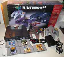 Nintendo 64 Console System Bundle Atomic N64 IN BOX! with 6 Games Goldeneye ++