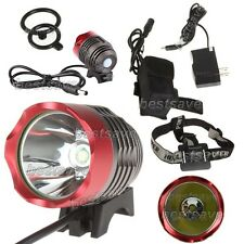 Bulb XM-L XML T6 SSC LED 3 Mode Bike Head Light Lamp Torch P7 +4x18650+CH B0262