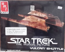Vintage STAR TREK:TMP Vulcan Shuttle Model Kit-AMT-FREE S&H(STMO-6679)