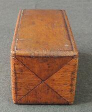 Antique Singer Treadle Sewing Machine Wood Puzzle Box W/Attachments Pat 1889 EUC