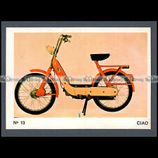 #MTP013 ★ PIAGGIO CIAO 1971 Cyclo Moped ★ Carte Moto Motorcycle card