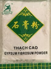 FOOD GRADE GYPSUM POWDER TOFU COAGULANT 4 Oz (113g) CALCIUM SULFATE Super Brand