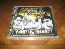 The Funky Fresh Sex Crew - Vanity & Insanity Rap CD Andre Nickatina San Quinn
