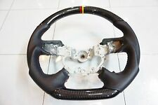 GENUINE FRAME STEERING WHEEL MITSUBISHI PAJERO SPORT2016 BUILT TO CARBON KEVLAR