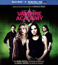 Vampire Academy (Blu-ray Disc, 2014, Includes Digital Copy; UltraViolet)