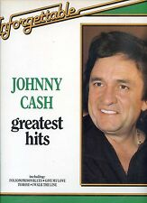 JOHNNY CASH greatest hits UNFORGETTABLE holland 1981 EX LP
