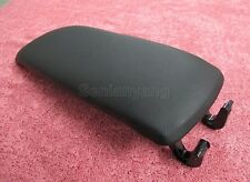 Black Leather Armrest Console Lid Cover FOR Audi A4 B6 S4 A6 C5 2000-2005