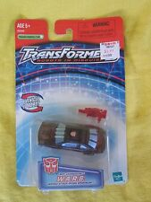 2001 Spy Changers W.A.R.S. (Black) Transformers Robots in Disguise New & Sealed