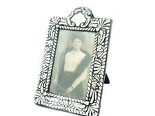 Antique Silver Photograph Frame, Sterling, PHOTO, Edwardian, Hallmarked 1902