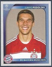 PANINI UEFA CHAMPIONS LEAGUE 2008-09- #159-BAYERN MUNCHEN-LUKAS PODOLSKI
